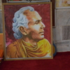 Portrait of Anagarika Dharmapala, the founder of the Maha Bodhi Society.